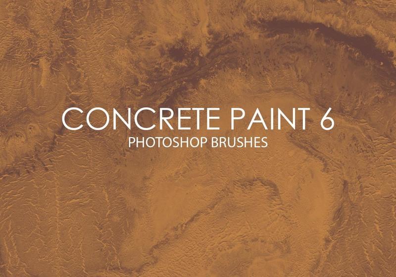 Free Concrete Paint Photoshop Brushes 6 Photoshop brush