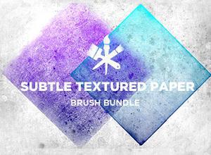 Subtle Paper Textures Photoshop brush