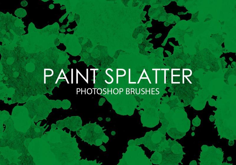 Free Paint Splatter Photoshop Brushes Photoshop brush