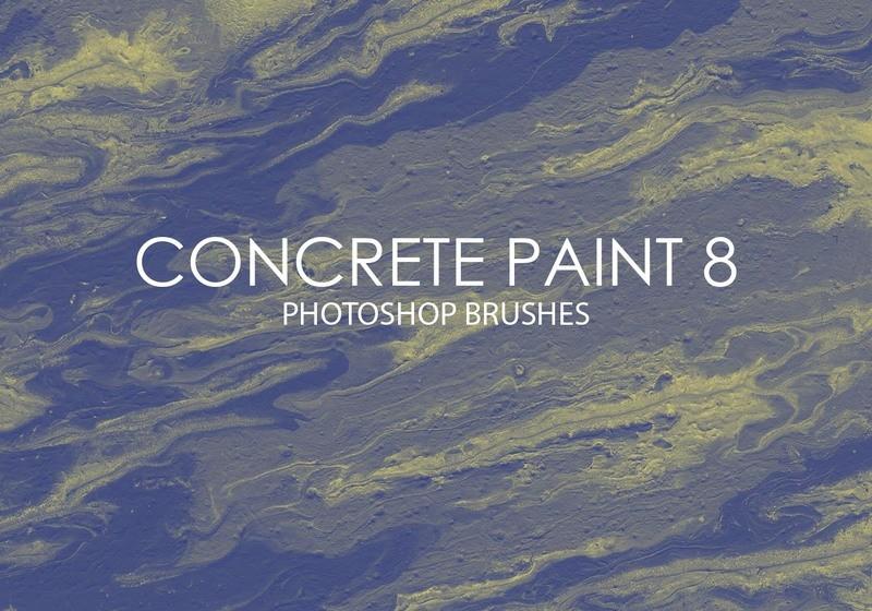 Free Concrete Paint Photoshop Brushes 8 Photoshop brush