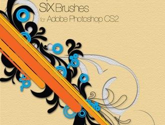 Swirls Photoshop brush