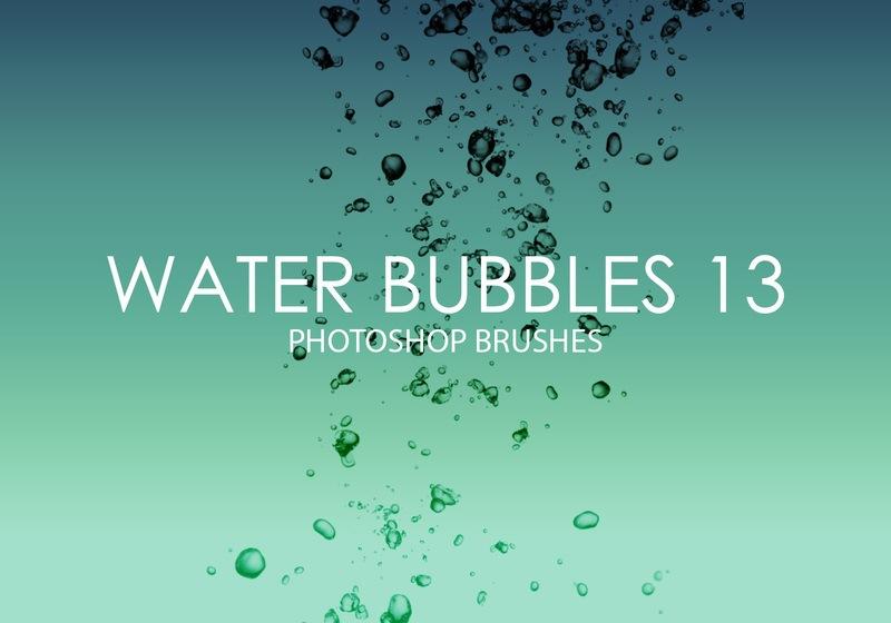 Free Water Bubbles Photoshop Brushes 13 Photoshop brush