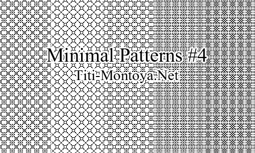 Minimal Patterns #4 Photoshop brush