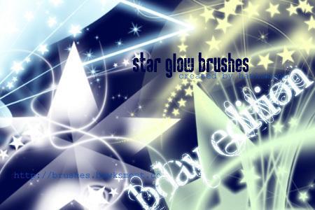 Star Glow Brushes Photoshop brush