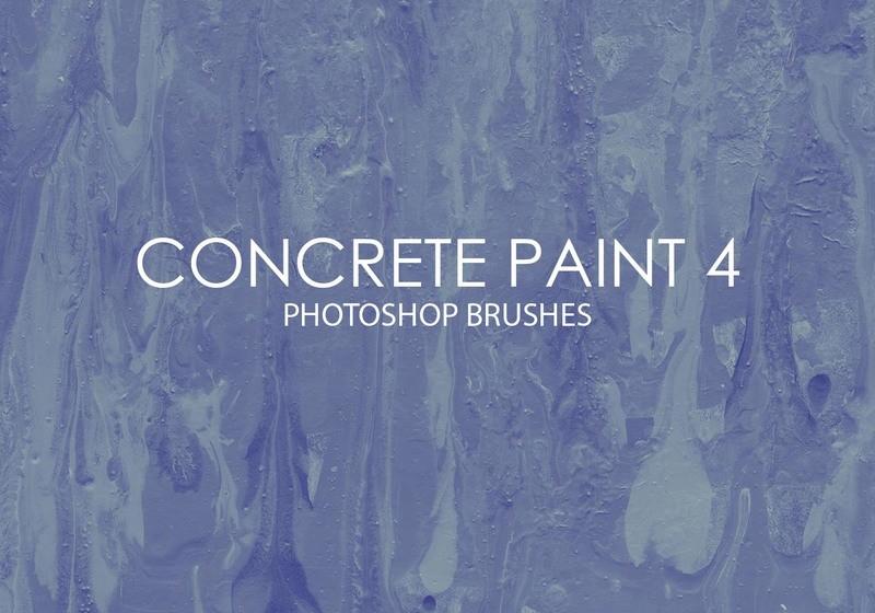 Free Concrete Paint Photoshop Brushes 4 Photoshop brush