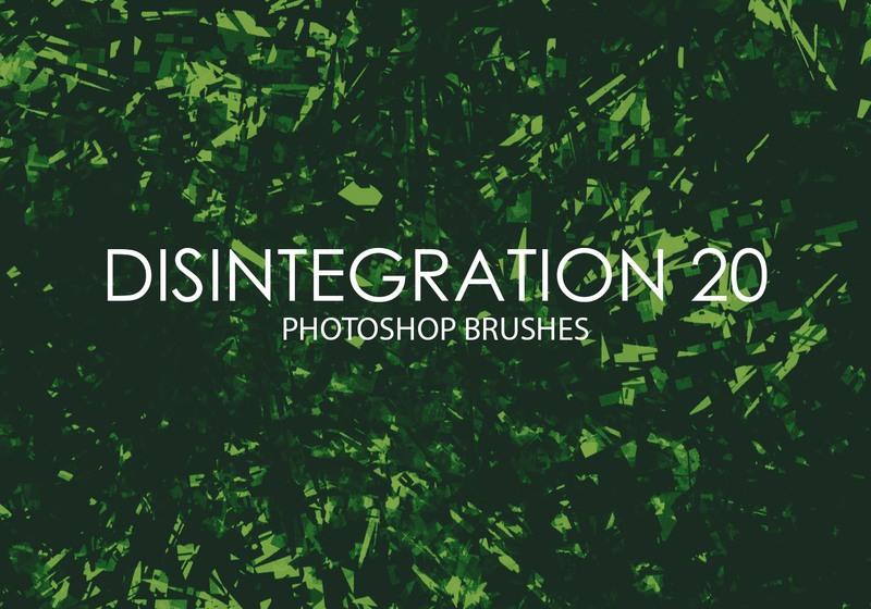 Free Disintegration Photoshop Brushes 20 Photoshop brush