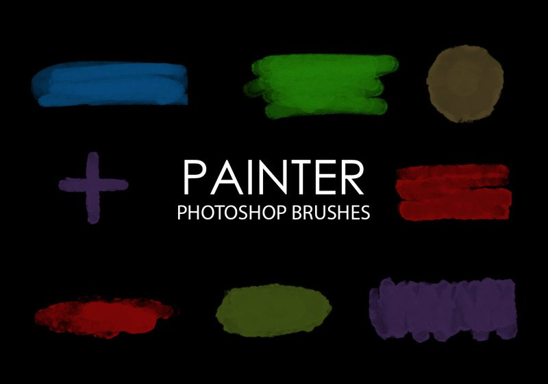Free Painter Photoshop Brushes Photoshop brush