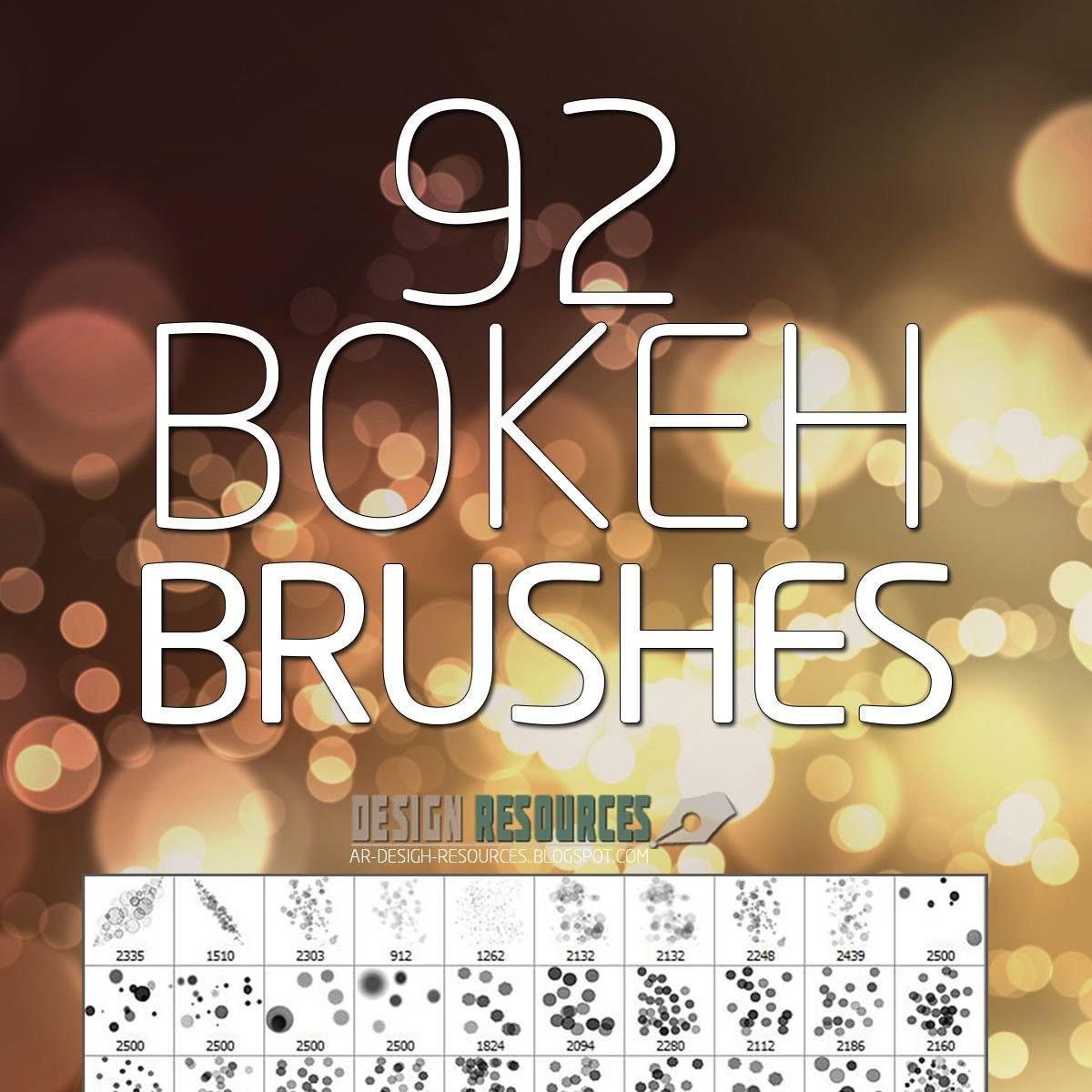 Bokeh PS Brushes Free Pack Photoshop brush