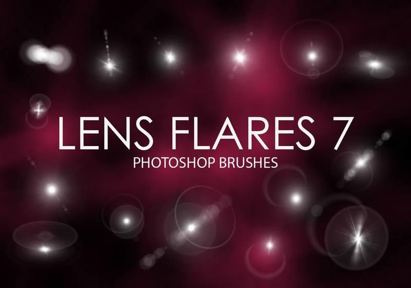 Free Lens Flare Photoshop Brushes 7 Photoshop brush