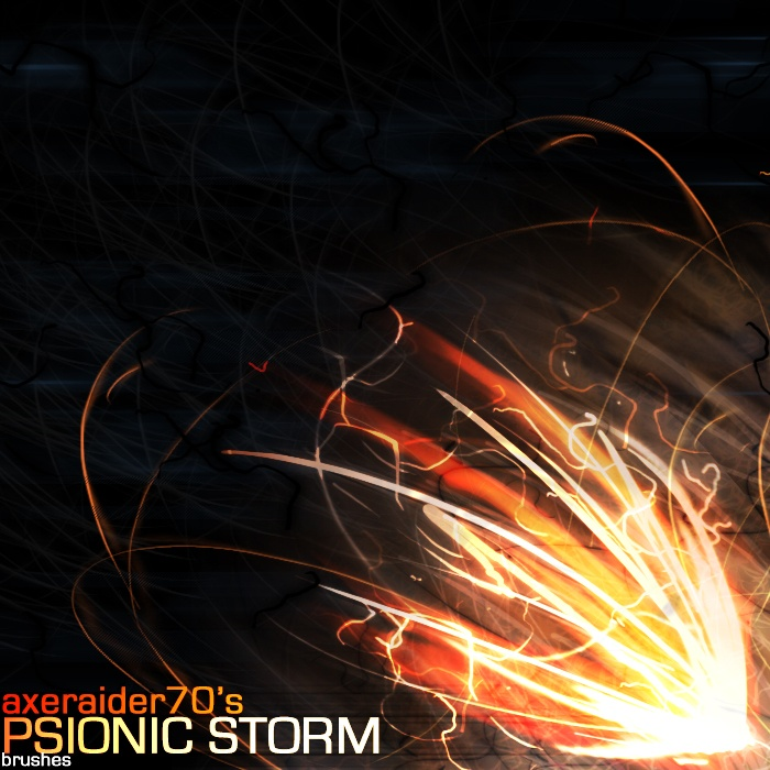 Psionic Storm Brushes Photoshop brush