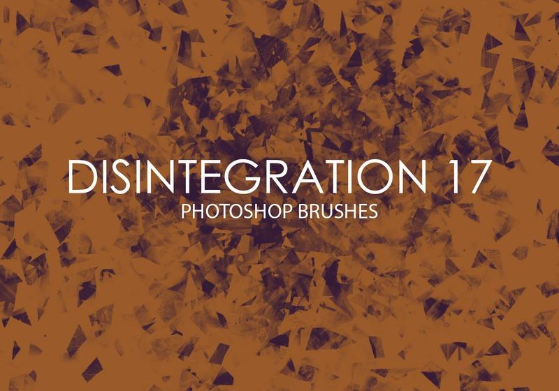 Free Disintegration Photoshop Brushes 17 Photoshop brush
