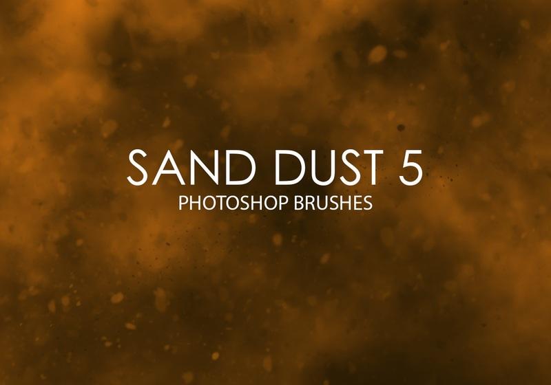 Free Sand Dust Photoshop Brushes 5 Photoshop brush
