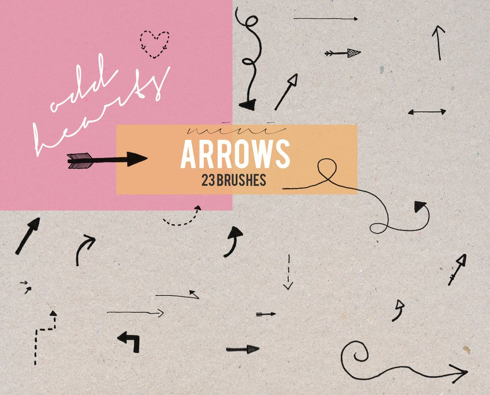 Mini Arrows - Brushes Photoshop brush