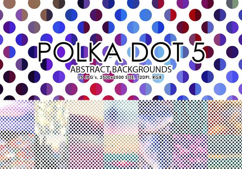 Free Polka Dot Backgrounds 5 Photoshop brush