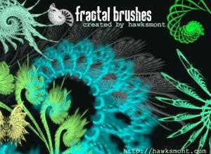 Fractals I by hawksmont Photoshop brush