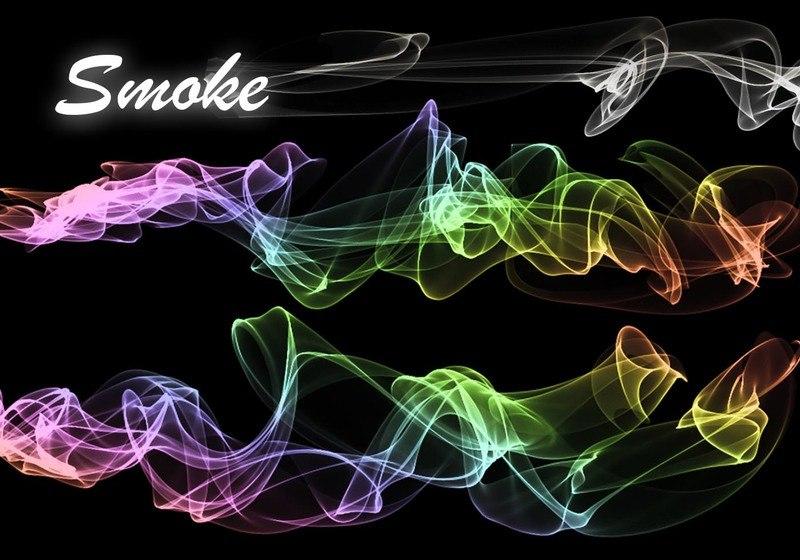 20 Smoke PS Brushes abr. Vol.7 Photoshop brush