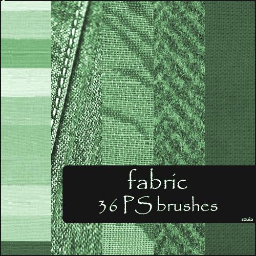 Fabric Brushes Photoshop brush