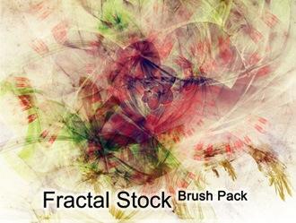 Fractal Stock Photoshop brush