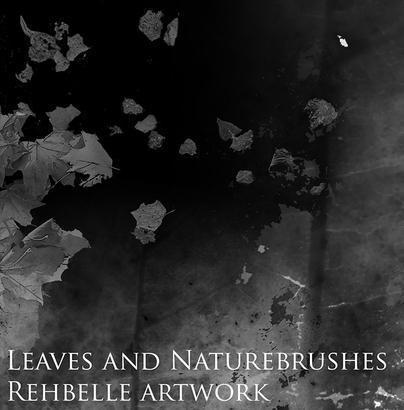 Leaves and Nature Brushes Photoshop brush