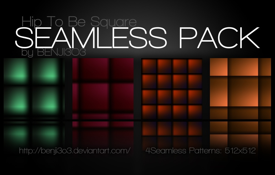 Seamless - Hip To Be Square Photoshop brush