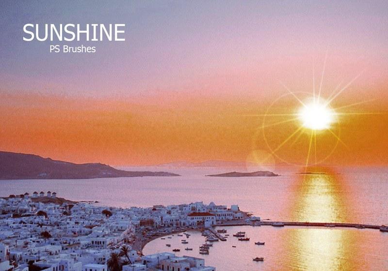 20 Sunshine PS Brushes abr Vol.4 Photoshop brush
