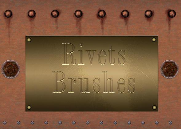 Rivets Brushes Photoshop brush