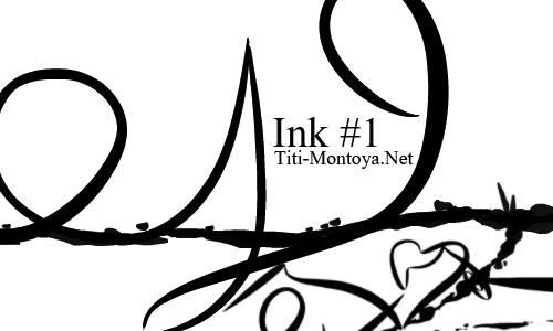Ink #1 Photoshop brush