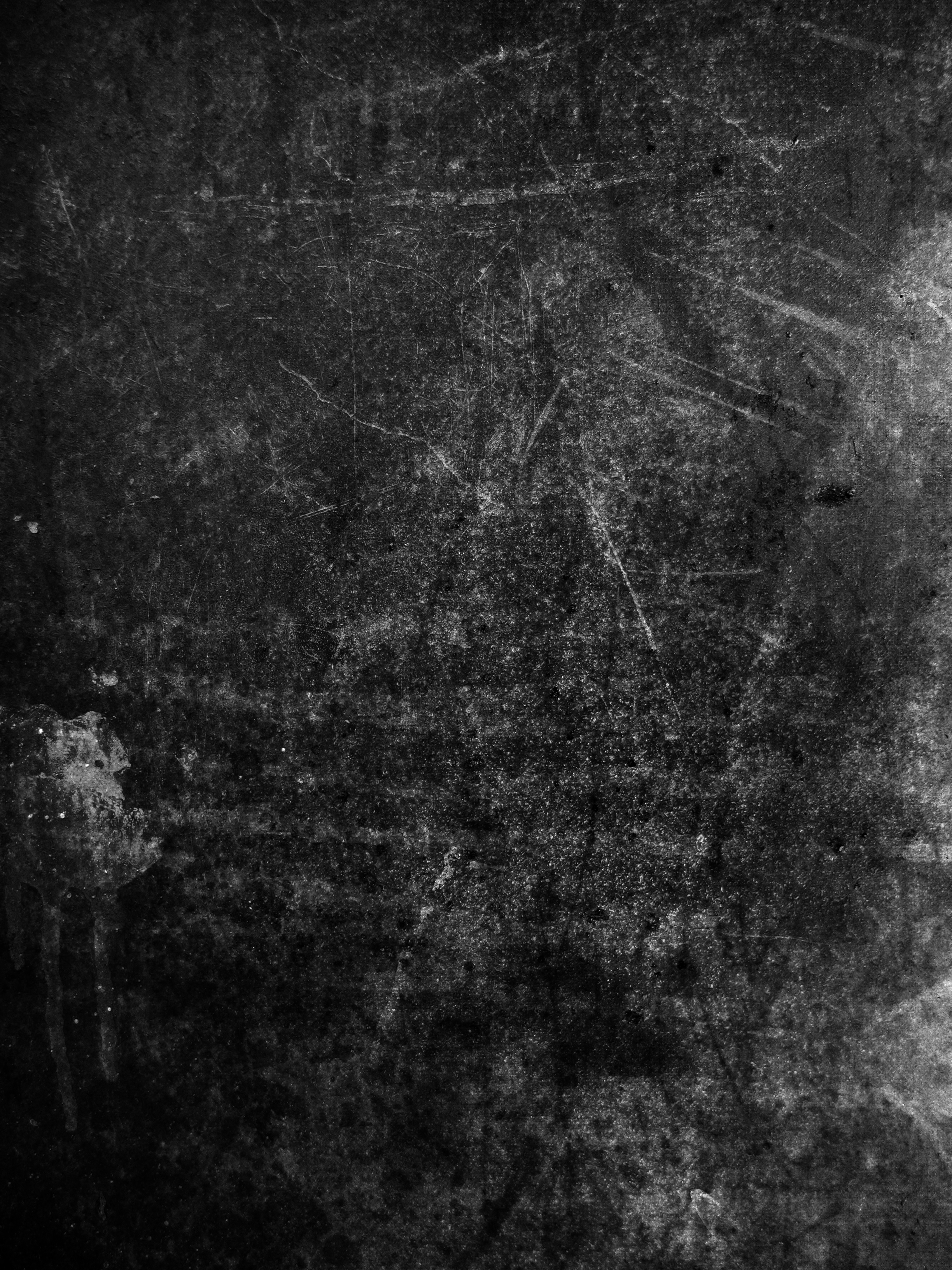 Black and white grunge texture Photoshop brush