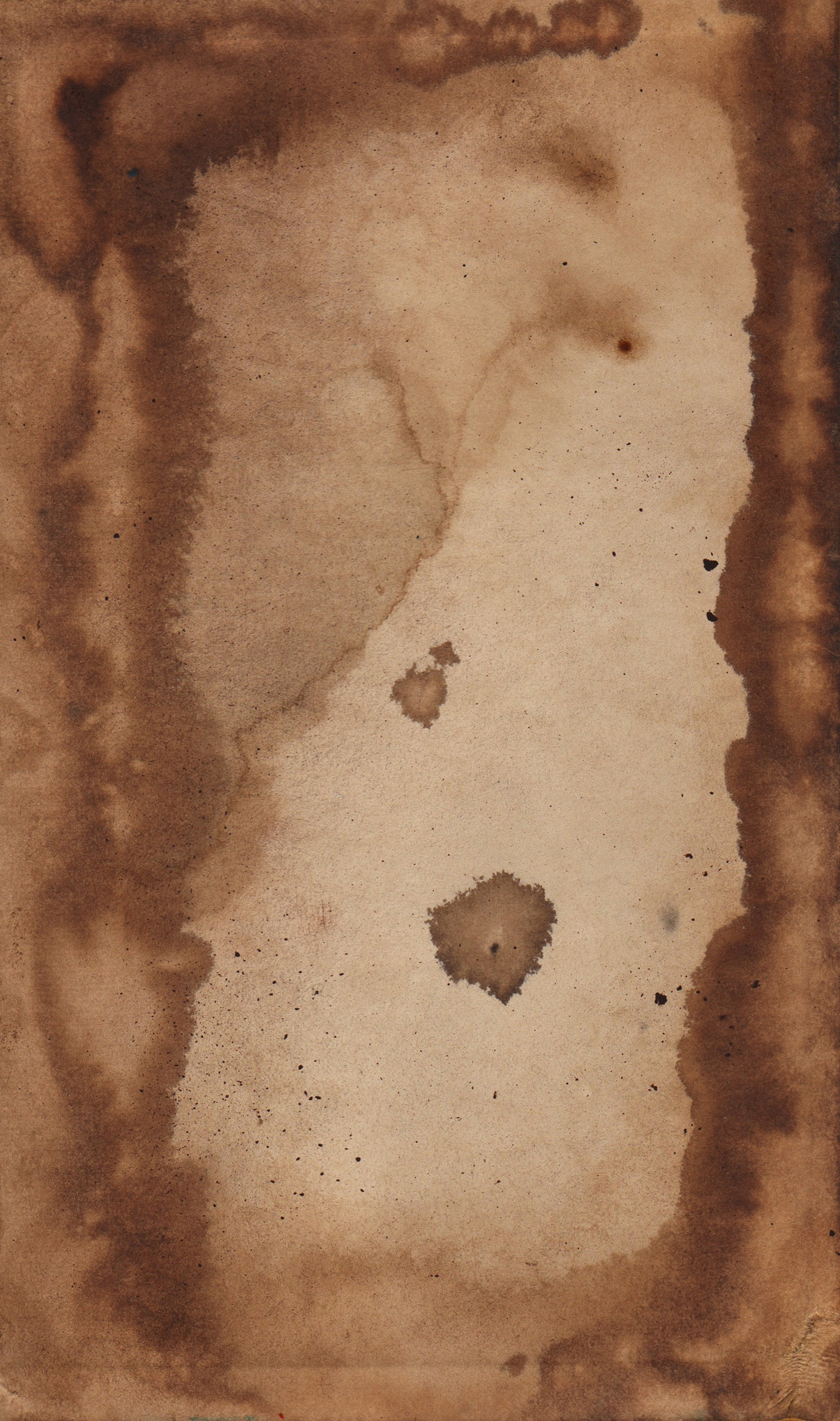 Coffee stained paper Photoshop brush