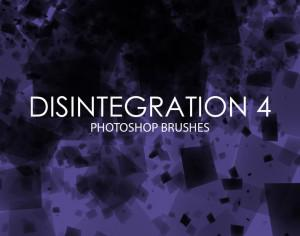 Free Disintegration Photoshop Brushes 4 Photoshop brush