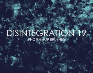 Free Disintegration Photoshop Brushes 19 Photoshop brush