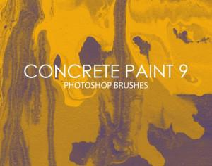 Free Concrete Paint Photoshop Brushes 9 Photoshop brush