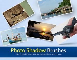 Photo Shadow Brushes Effect Photoshop brush