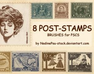 Old Stamp Photoshop brush
