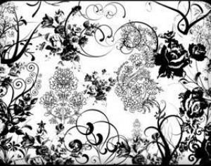 Ornament Free Brush Pack Photoshop brush