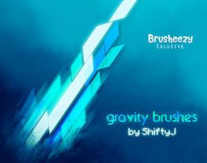 Gravity Brushes Photoshop brush