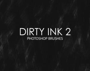 Free Dirty Ink Photoshop Brushes 2 Photoshop brush