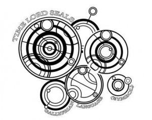 Time Lord Seals Brushes (Gallyfrian Language [Symbol]) Photoshop brush