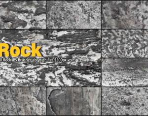 Rock Texture PS Brushes abr vol.3 Photoshop brush