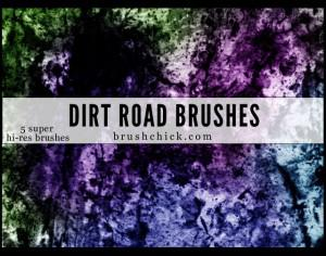 Dirt Road Brushes Photoshop brush