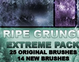 Ripe Grunge Photoshop brush