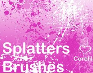 Splatter Brushes 1.5 Photoshop brush