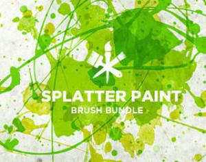 Paint Splatter Photoshop brush