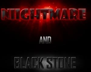 Nightmare-Black Stone Styles Photoshop brush