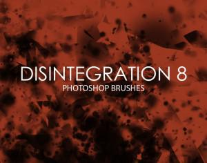 Free Disintegration Photoshop Brushes 8 Photoshop brush