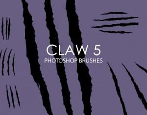 Free Claw Photoshop Brushes 5 Photoshop brush