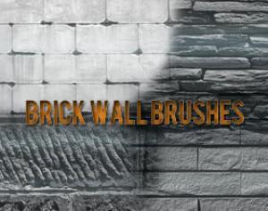 Brick Wall Brushes Photoshop brush