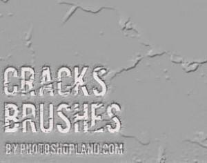 Cracks Brushes Set Photoshop brush