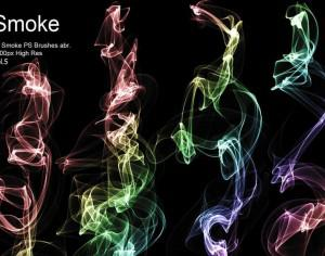 20 Smoke PS Brushes abr. Vol.5 Photoshop brush