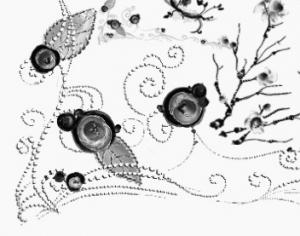 Weird Floral Ornaments Photoshop brush